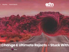 "Featured on EDM Insiders – ""Stuck With Me"""