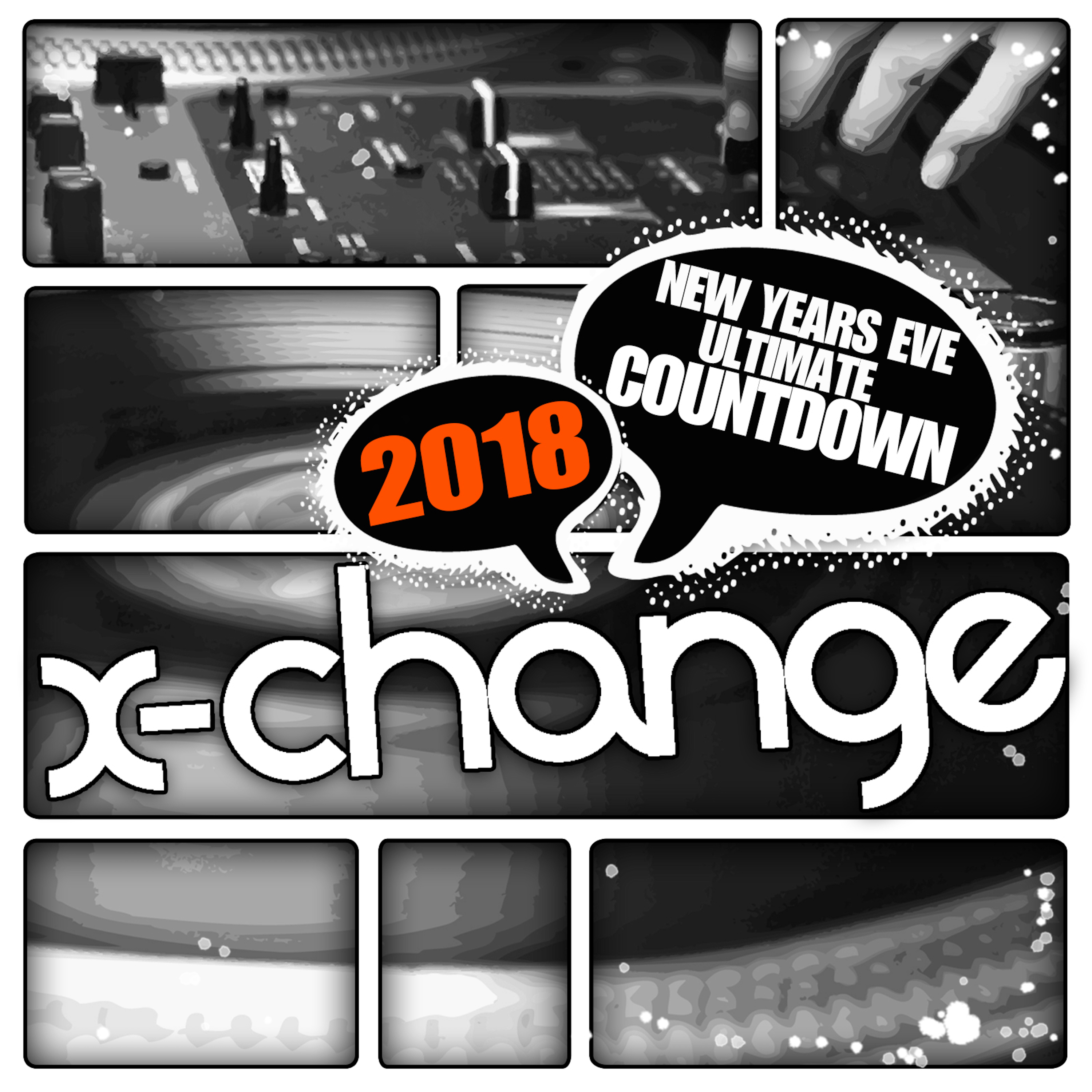 DJ X-Change - New Years Eve Ultimate Countdown 2018 Artwork