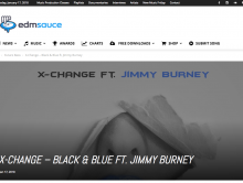 "EDMSauce Features ""Black & Blue"""