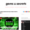 """Make The Party Go Boom"" on Gems & Secrets Blog"