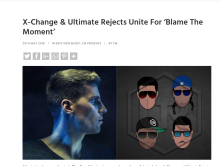 "Best New Music on Fame Magazine – ""Blame The Moment"""