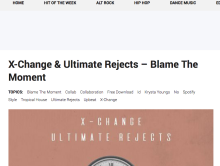 """Blame The Moment"" featured on This Song Is So Sick Blog"