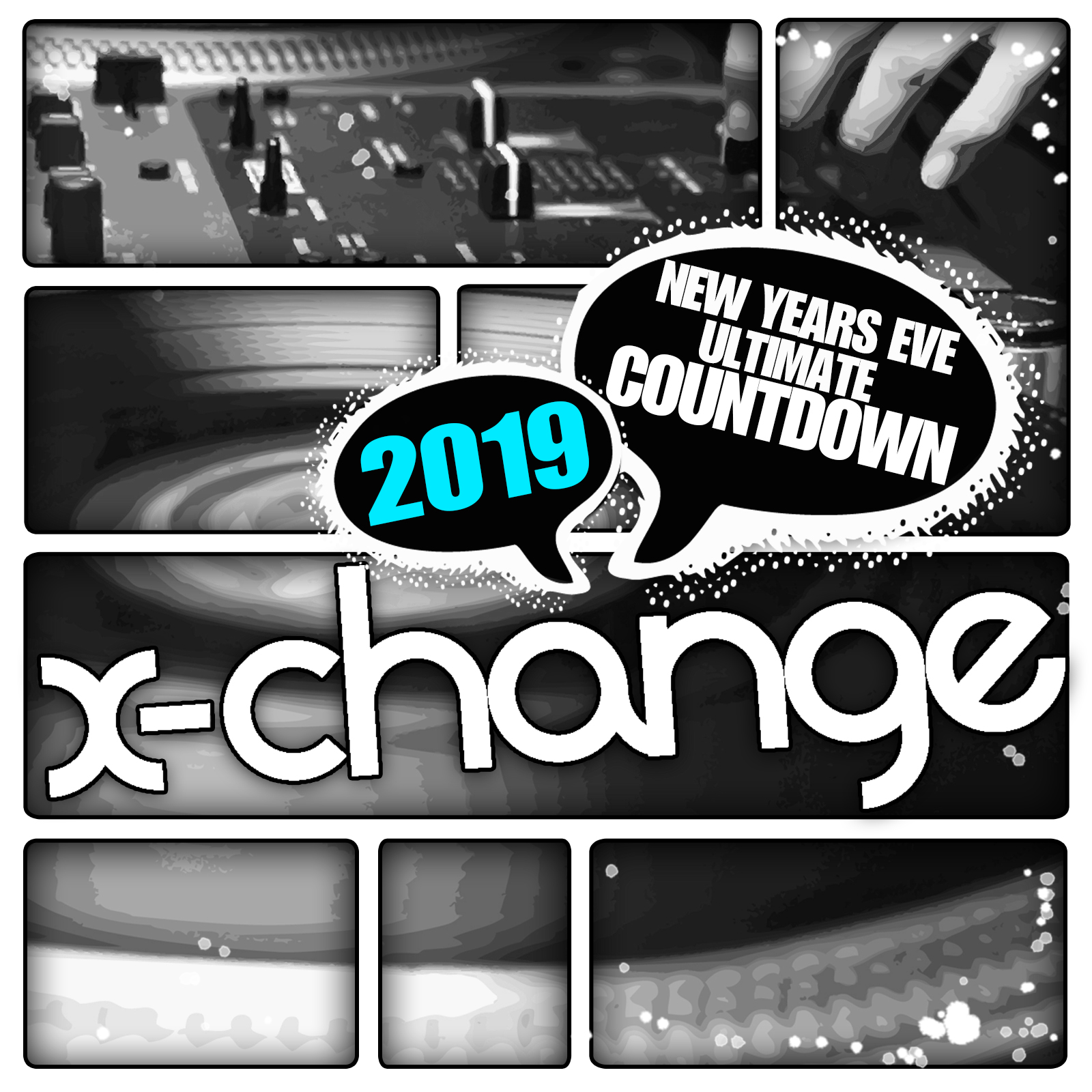 DJ X-Change - New Years Eve Ultimate Countdown 2019 Artwork