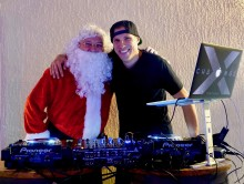 X-Change spinning at Toys For Tots Fundraiser