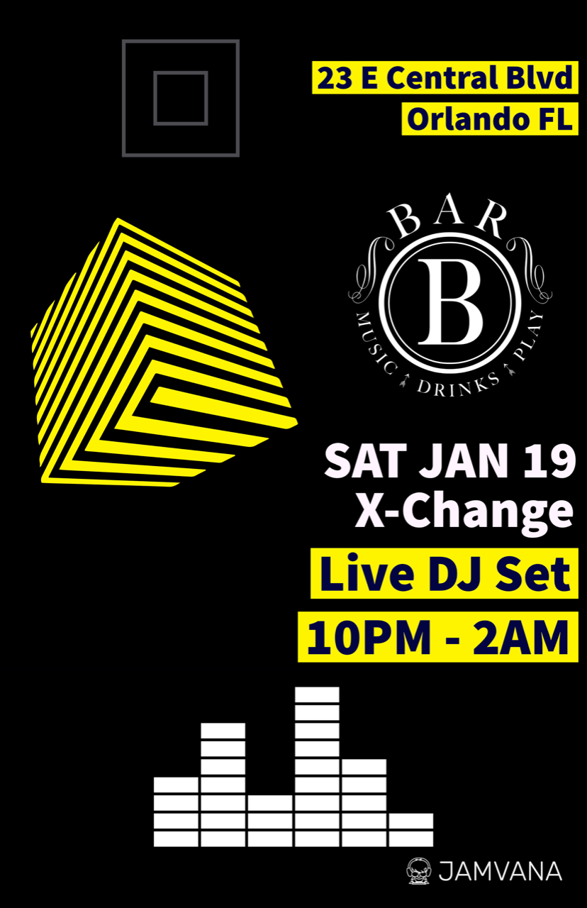 Bar B Orlando Jan 19 2019 Flyer