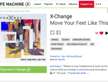 "Hype Machine features ""Move Your Feet Like This"""
